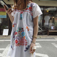 Mexico embroidery dress