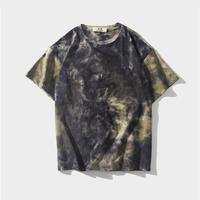 Dark color tie dye t-shirt/ダークカラー タイダイ Tシャツ