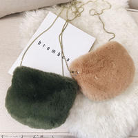 5color fur  bag/5カラーファー バッグ
