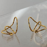 Gold hoop ear cuff/ゴールド フープ イヤーカフ
