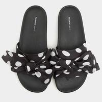 dot pattern shoes/ドット柄 サンダル