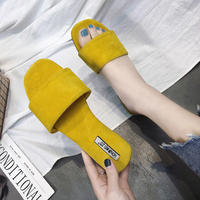 3 color flat sandals/3カラー フラット サンダル