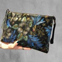2way flower  print bag/2way フラワープリント バッグ