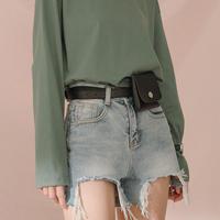 2color waist belt bag/2カラー ウエストベルト バッグ