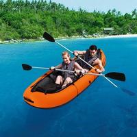 ボート カヌー カヤック  釣り インフレータブル 2人用