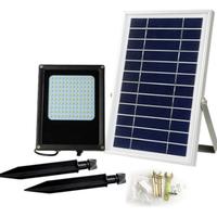 庭のスポットライト ソーラー充電式 夜間作業や防犯に led 6V 6W