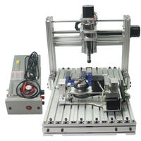 CNC3040 5軸 フライス ルーター USBポート DIY  ER11 ボールねじ