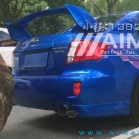 インプレッサ リアスポイラー WRX STIスタイル 塗装レス ABS