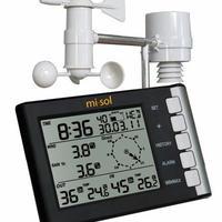 ワイヤレス ウェザーステーション プロ 多機能 風速 風向 温度 湿度 雨 433MHz