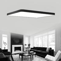 シンプルなシーリングライト 薄型で調光も可能 LED 90✕58✕5cm 96W