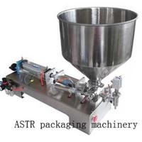 ペースト充填機  コンパクトな半自動空気圧フィラー シングルノズル 業務用