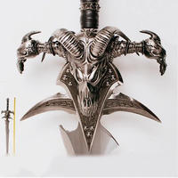 模造刀 輸入  ロングソード 120cm  ステンレス コスプレ コレクション Arthas Menethil