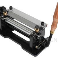 レザースプリッター 手動革漉き機 刃幅15cm 手作りの革製品作りに最適