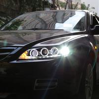 MAZDA アテンザ  LEDヘッドライト かっこいいイカリング仕様