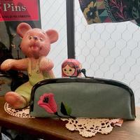 【ハンガリー刺繍キット】チューリップのがま口