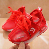 大人気商品!光る靴 メッシュ素材 2color