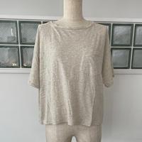 〈113802〉オーガニックコットンガーゼTシャツ