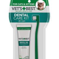 猫用 デンタルキット 高麗人参とカモミール、そして緑茶エキスが口腔内をサポートして、歯と歯茎の健康をサポートします。