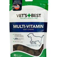 マルチビタミン ソフトチュウ 30P 愛犬の心身、ビタミン不足(ちょっとしたかゆみや食欲不振など)をサポートする 〜