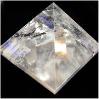 天然水晶 大きめピラミッド型 75mm