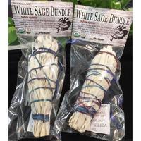 浄化・儀式用 ホワイトセージ・バンドルタイプ(無農薬)