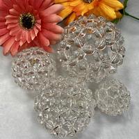 高波動⭐︎神聖幾何学フラーレン 水晶バッキーボール 直径約53mm