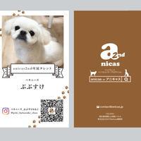 【anicas2ndの方限定】名刺