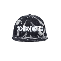 "ANIMALIA  SNAPBACKCAP ""BLEACH DENIM"""