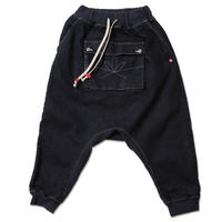 """APACHE-Stretch Denim Sarrouel Pants"""