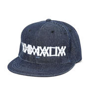 "ANIMALIA  SNAPBACKCAP ""DENIM"""