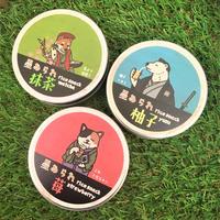 星あられ缶/Rice snack can