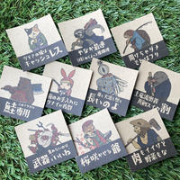 クラフトシール10枚/Craft Sticker