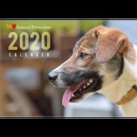 2020 アニプロオリジナル チャリティーカレンダー B4壁掛け