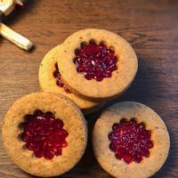 ラズベリージャムサンドクッキー(2袋)