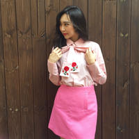 2way Rose Shirt PINK