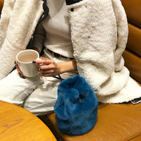 Fake fur Bag  (5colors)