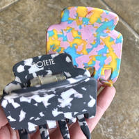 POTETE matte camouflage hair clip