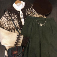 used Nordic  cardigan