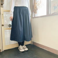 used euro cotton skirt