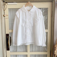 used white lace blouse
