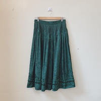 used euro green color skirt