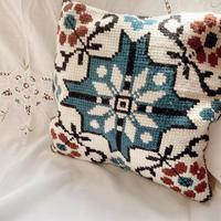 used handmade cushion
