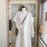 40s antique linen dress