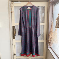 used 80s polyester dress