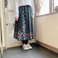 used euro flower skirt