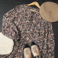 used us 70s flower dress