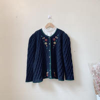 used euro embroidery sweater