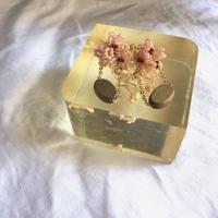 gaga ビーズのイヤリング