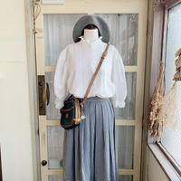 used euro frill blouse
