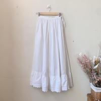 antique us white skirt